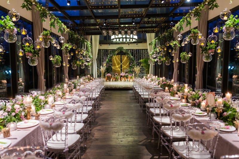 Jantar de casamento imagens de stock royalty free