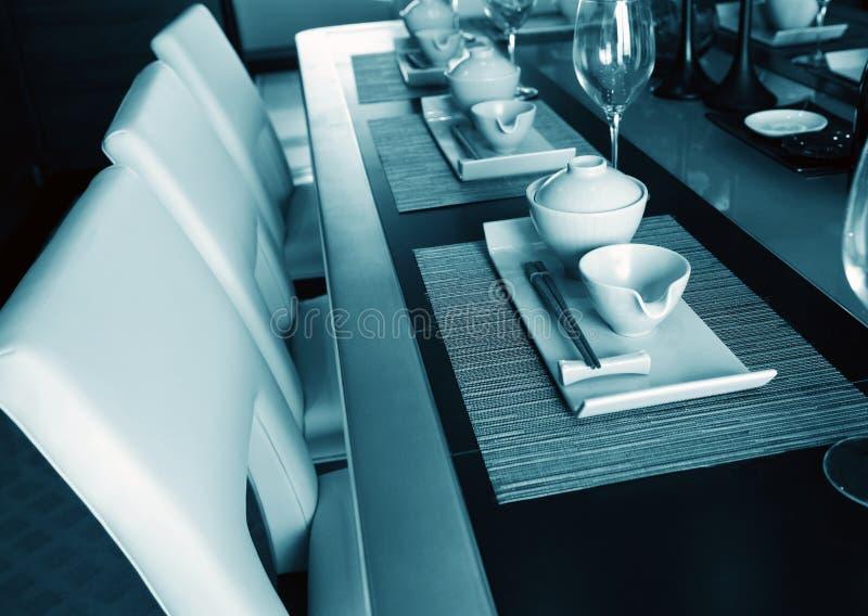 Download Jantar elegante foto de stock. Imagem de decoração, home - 16856068