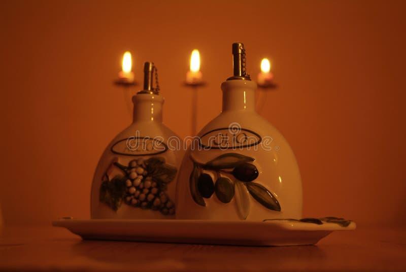 Jantar italiano fotografia de stock royalty free