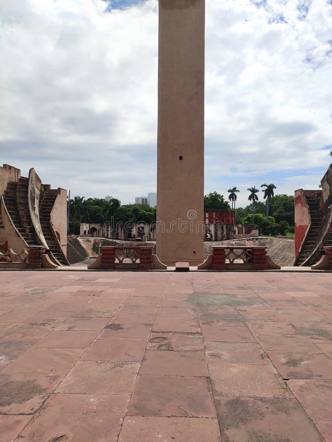 Jantar mantar, Δελχί, Ινδία στοκ εικόνα