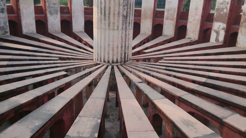 Jantar Mantar lizenzfreies stockbild
