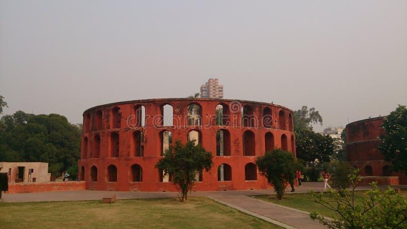 Jantar Mantar lizenzfreie stockfotos