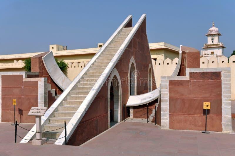 Jantar Mantar Beobachtungsgremium lizenzfreie stockbilder