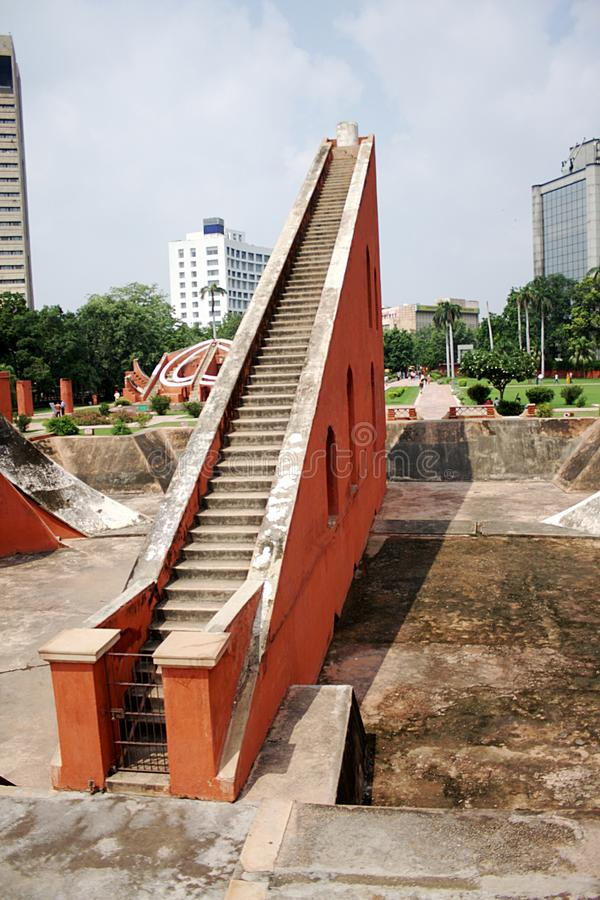 Jantar Mantar, Nuova Delhi fotografie stock