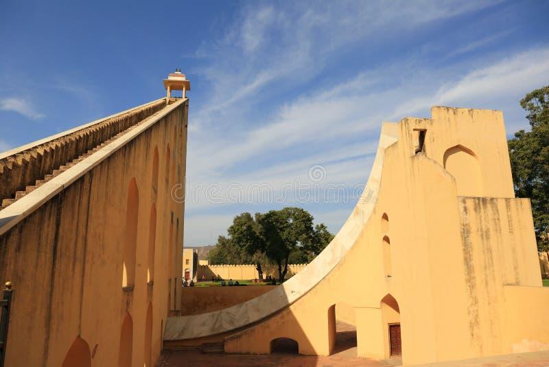 Jantar Mantar obserwatorium (Jaipur) obraz stock