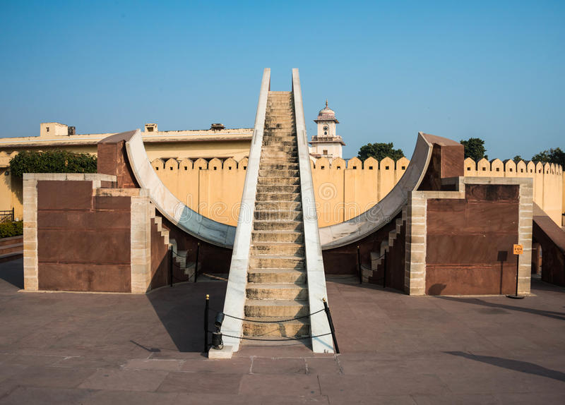 Jantar Mantar Sundial photo stock