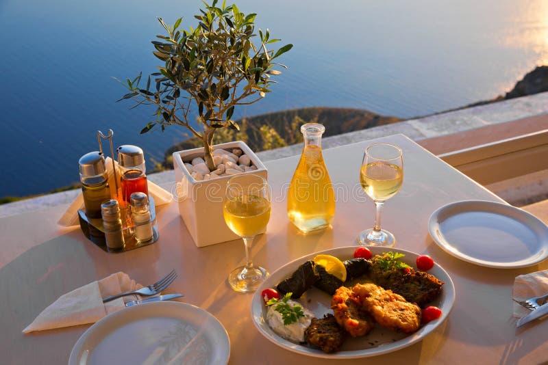 Jantar romântico para dois fotografia de stock royalty free