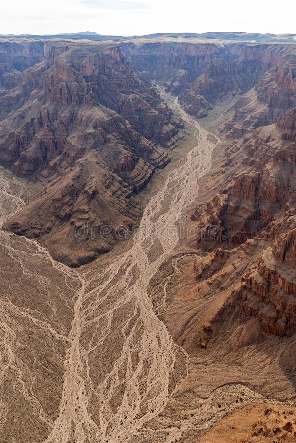 Jante occidentale de Grand Canyon images stock