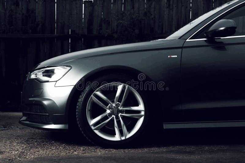 Jantes d'Audi A6 C7 image libre de droits