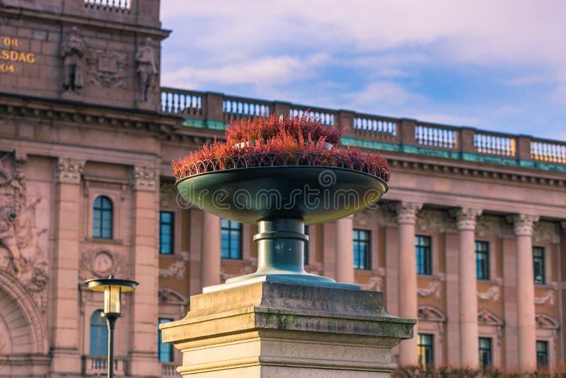 21. Januar 2017: Sonderkommandos des Parlaments von Stockholm, Schweden lizenzfreie stockfotografie
