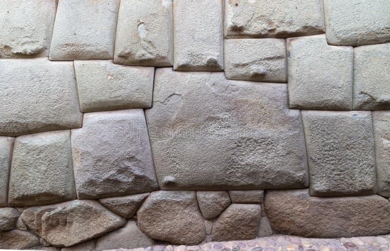 20 januari, de Straat van Hatun Rumiyoc van 2019 (Cusco-Stad) Peru, twaalf-twelve-angled steen royalty-vrije stock foto's