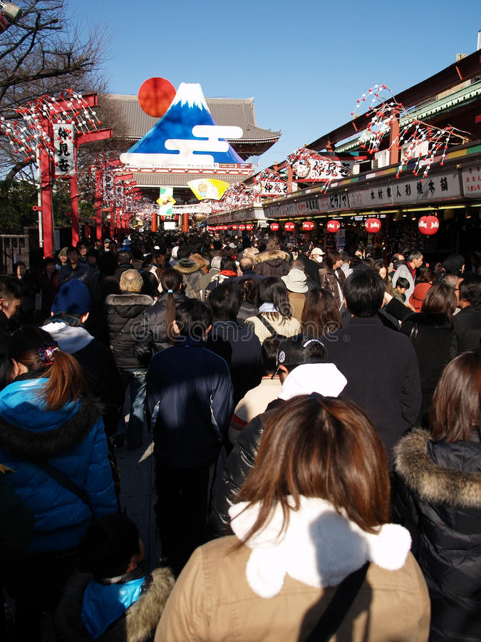 Download January 09: Christmas Time In A Temple In Asakusa Editorial Image - Image of capital, statue: 11843395