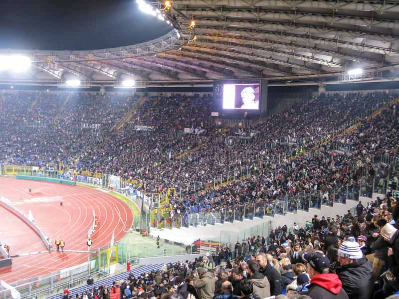 19 January 2009. Italian Championship Soccer Serie A stock images