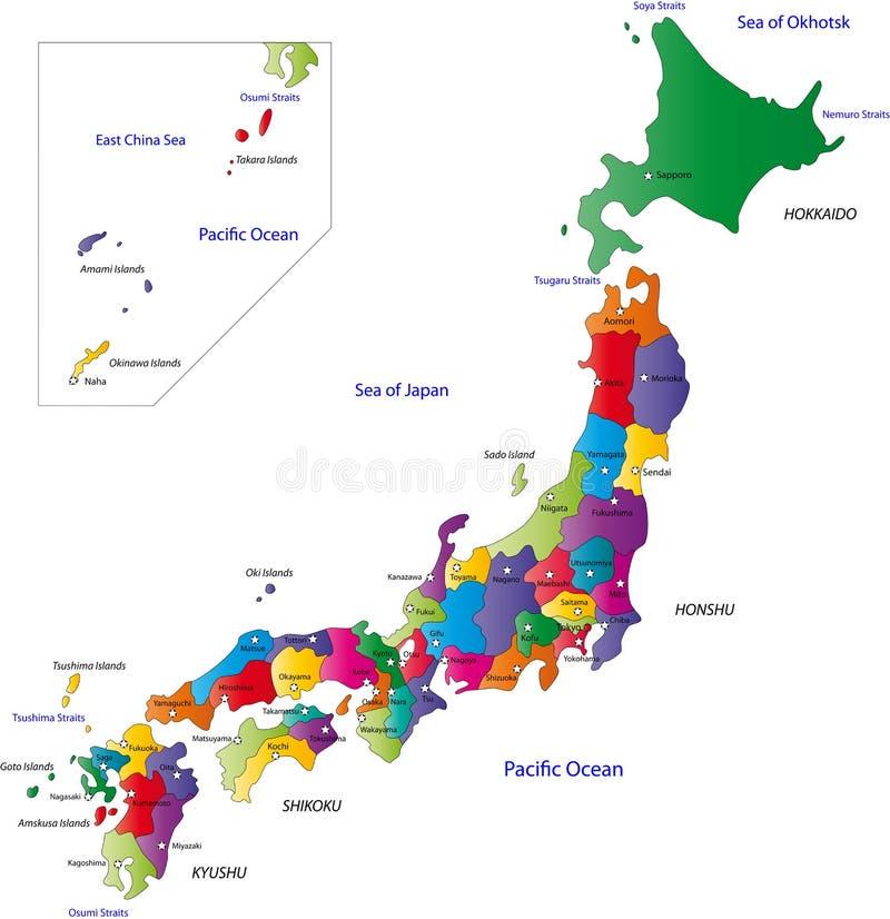 Japão ilustração do vetor