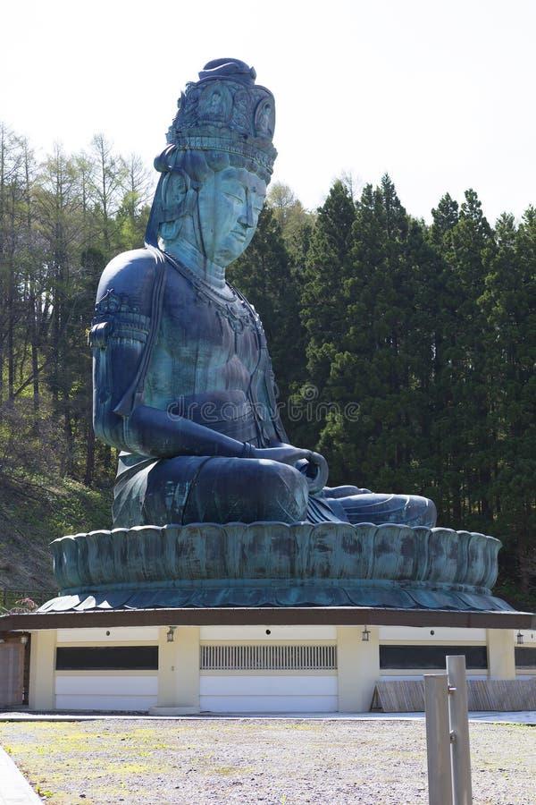 japão Buda grande da prefeitura de Aomori fotos de stock royalty free