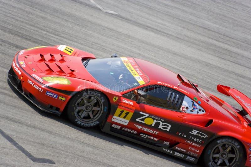 Japão GT super 2009 - competência do Gainer de Jim da equipe fotografia de stock