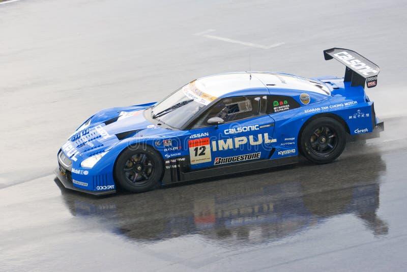 Japão GT super 2009 - equipe Impul imagens de stock royalty free