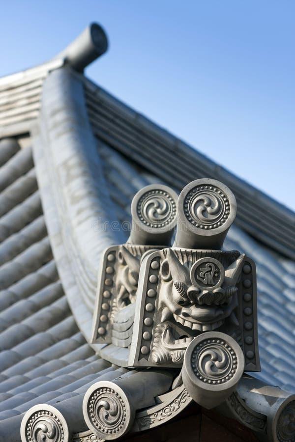 Japão - Kyoto - o santuário de Yasaka Jinja foto de stock
