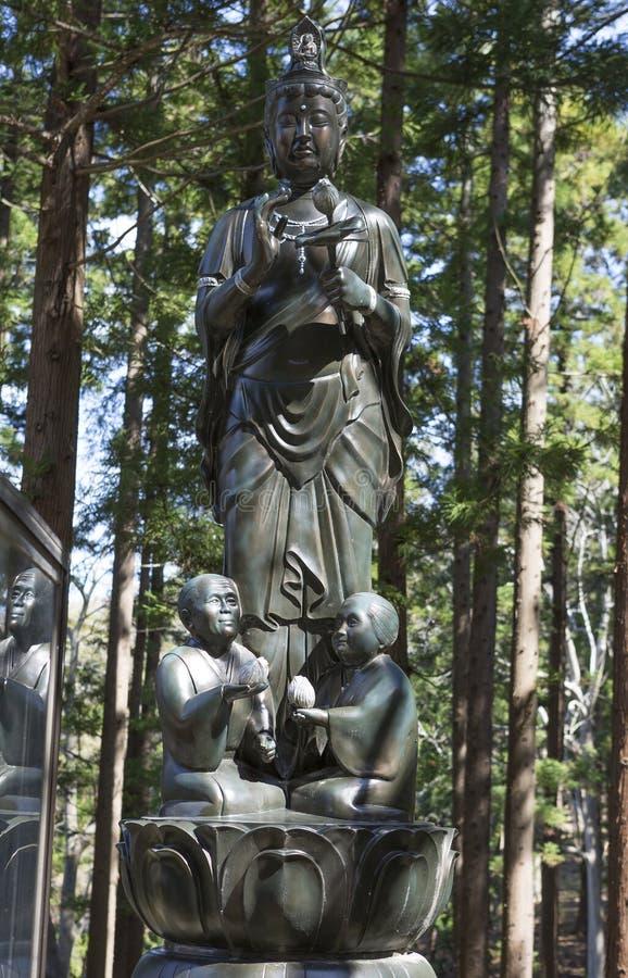 japão Na prefeitura de Aomori Templo de Saru Seiryu do templo fotos de stock royalty free