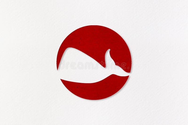 Japão recomeça a baleação comercial após 30 anos ilustração royalty free