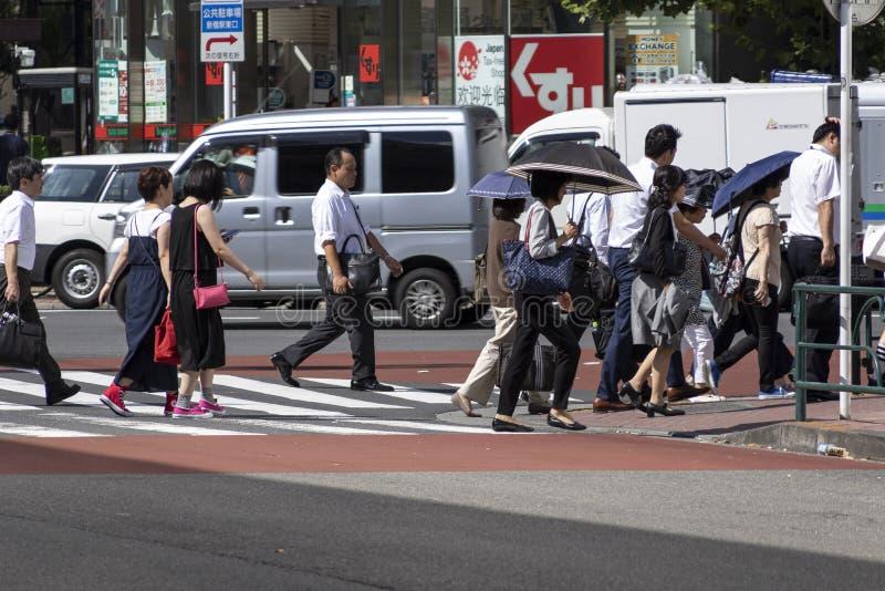 Japão sofre enquanto a vaga de calor continua fotos de stock royalty free