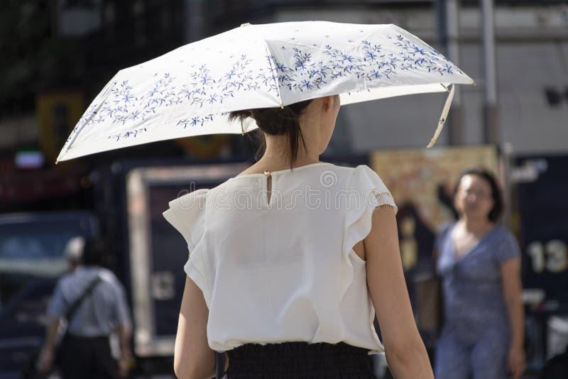 Japão sofre enquanto a vaga de calor continua foto de stock