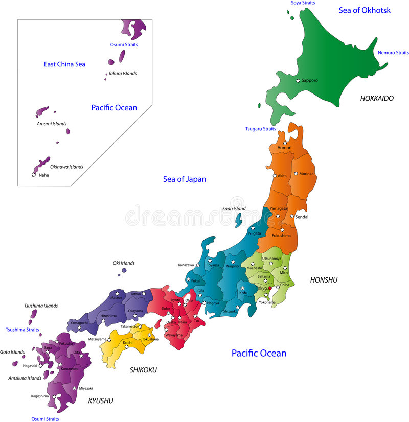 Japón stock de ilustración