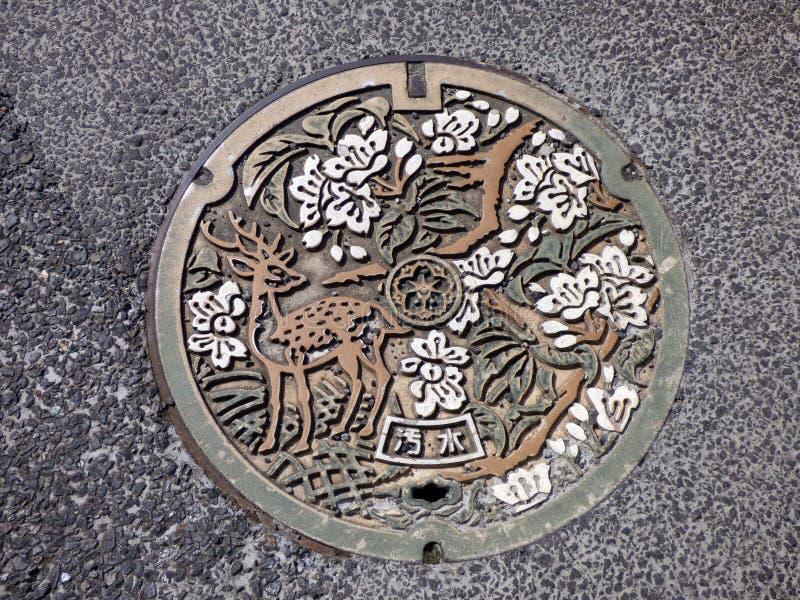 japón estrechez Templo de Todaiji fotos de archivo libres de regalías