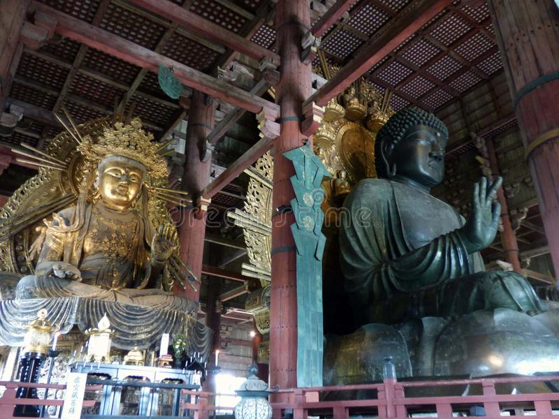 japón estrechez Templo de Todaiji foto de archivo