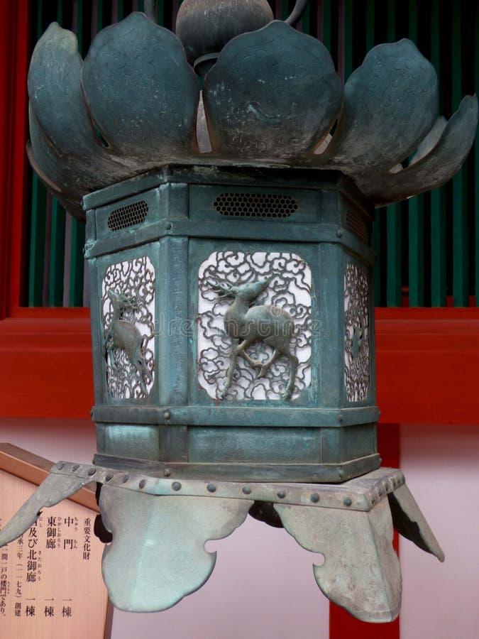 japón estrechez Templo Kasuga Taisha fotografía de archivo libre de regalías