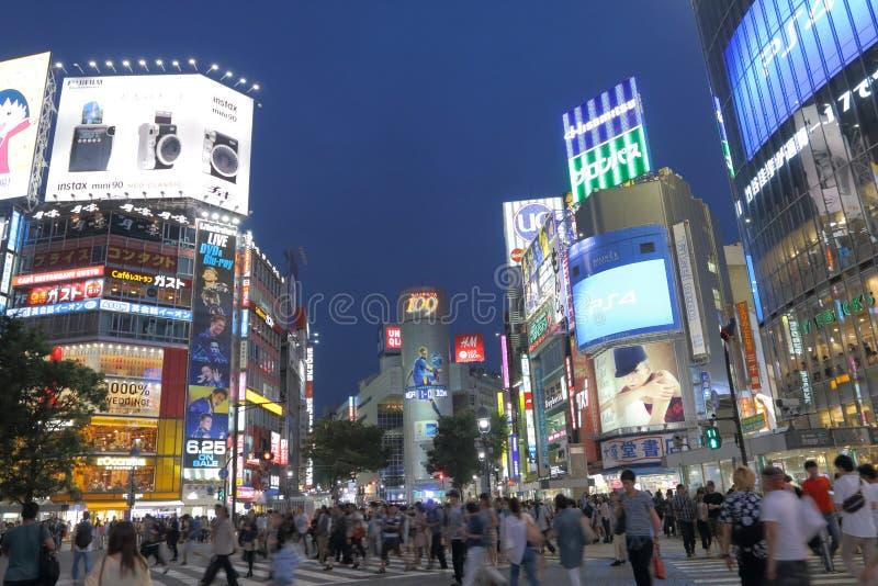 Download Japón: Shibuya imagen editorial. Imagen de señal, japonés - 41912545