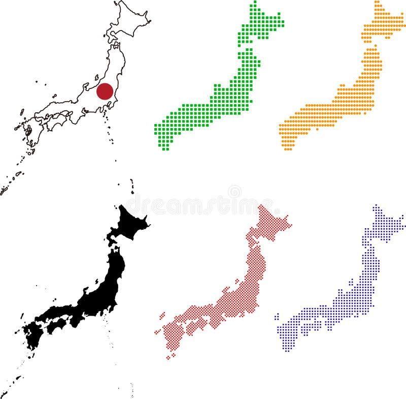 Japan lizenzfreie abbildung