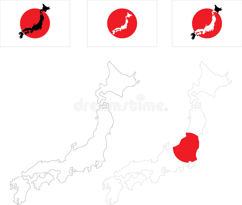 japan ilustracji