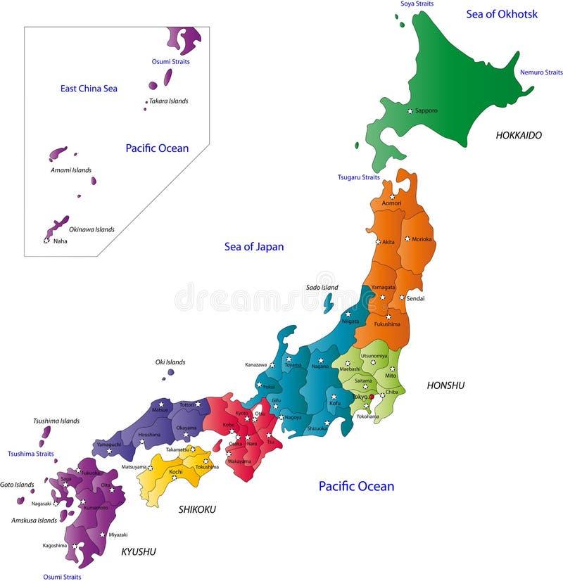 Japan stock illustratie