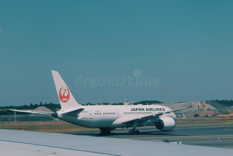 Japan Airlines στοκ εικόνες