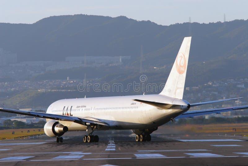 Japan Airlines imágenes de archivo libres de regalías