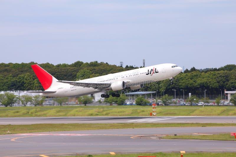 Japan Airlines fotos de archivo