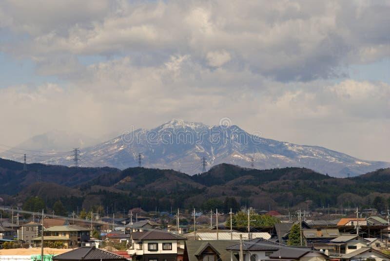 Japan-Alpen, Honshu, Japan stockfotografie