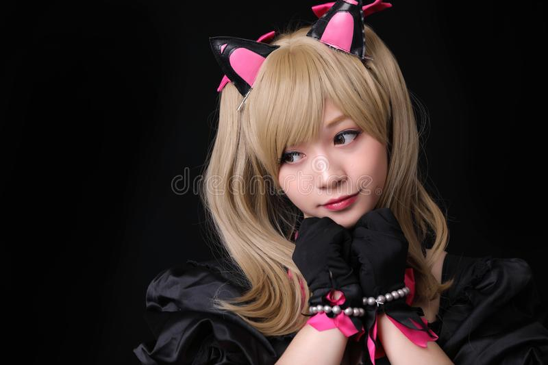 202 Anime Girl Japanese Character Black White Photos Free Royalty Free Stock Photos From Dreamstime