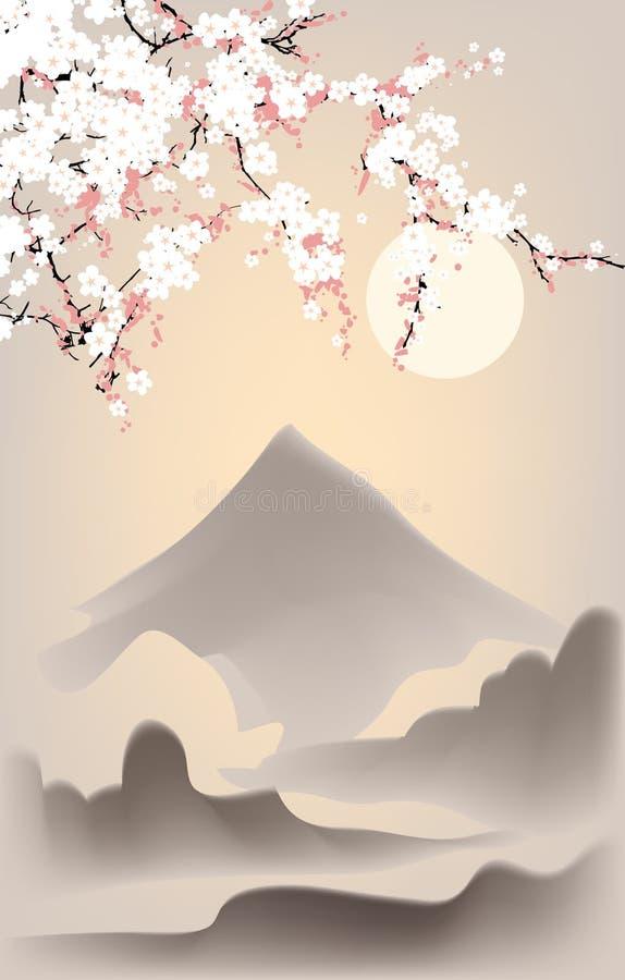 Japan banner_5 royalty-vrije illustratie