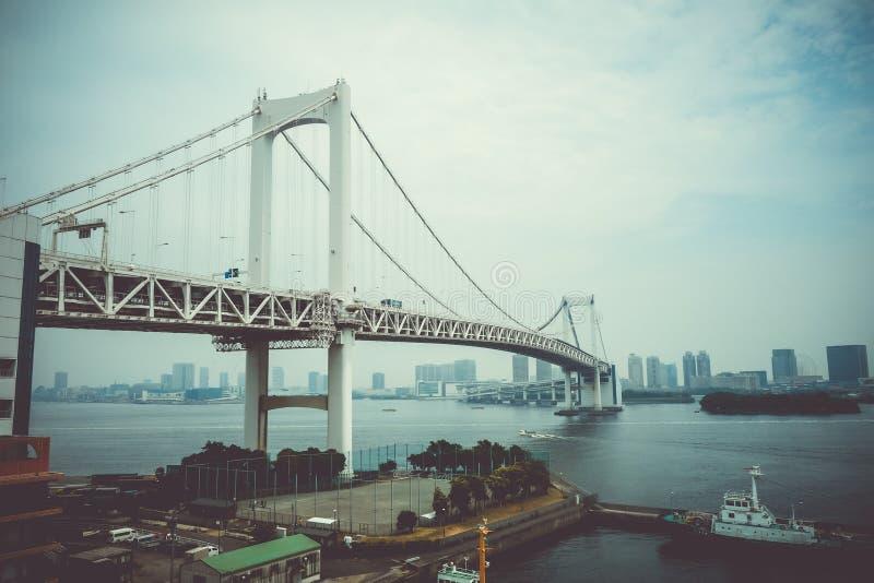 japan bridżowa tęcza Tokyo obraz stock