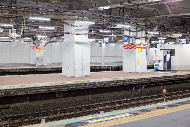 Japan-Eisenbahnen JR. Chiba-Station stockbild