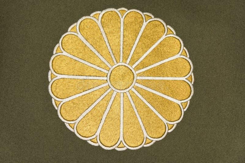 Japan-Emblem lizenzfreie abbildung