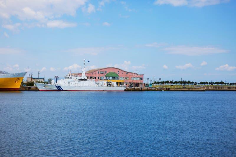 japan En préfecture d'Aomori Port images libres de droits
