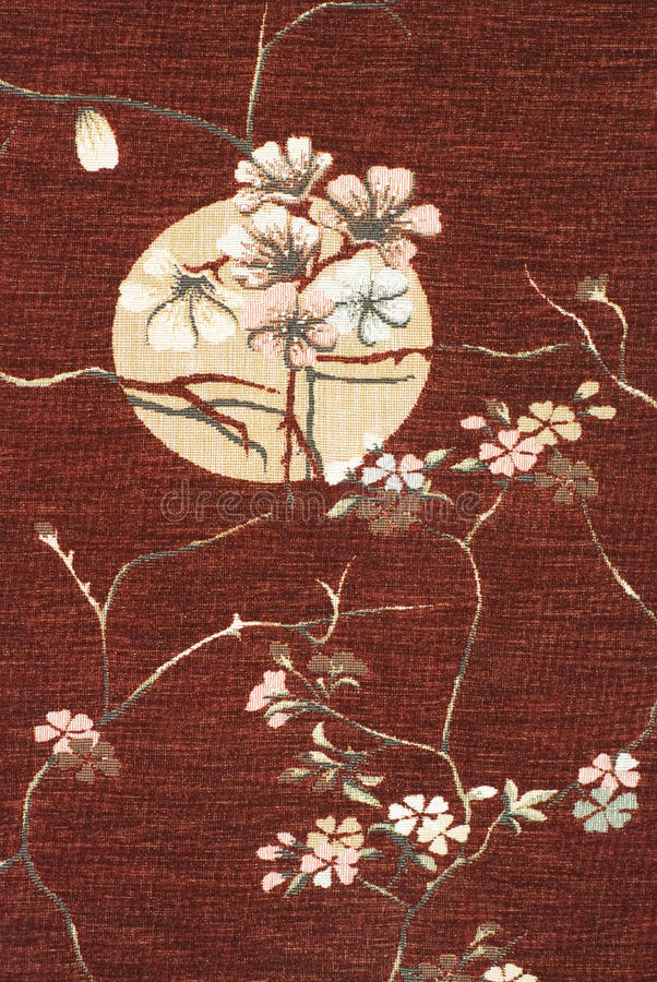 Japan fabric royalty free stock images