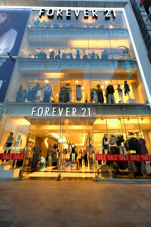 Japan: Forever 21 store stock photos