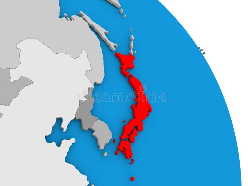Japan on globe stock illustration illustration of japan 84956067 download japan on globe stock illustration illustration of japan 84956067 gumiabroncs Gallery