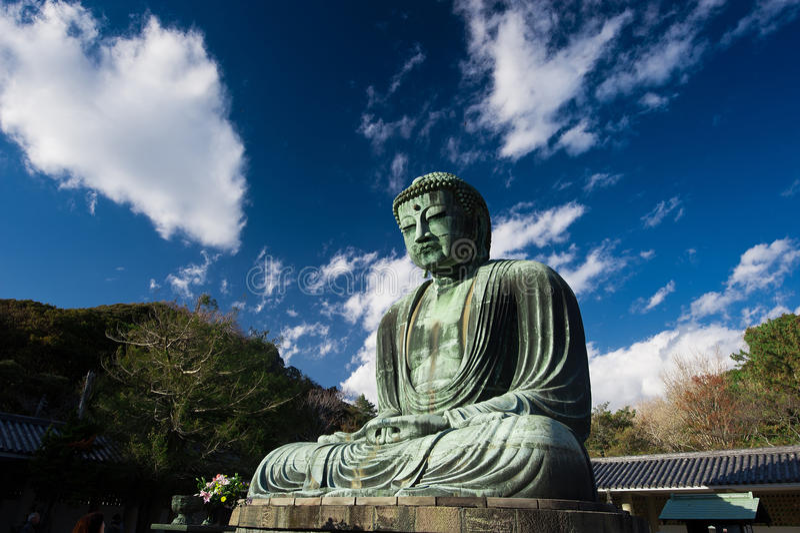 Japan grote Boedha royalty-vrije stock afbeeldingen