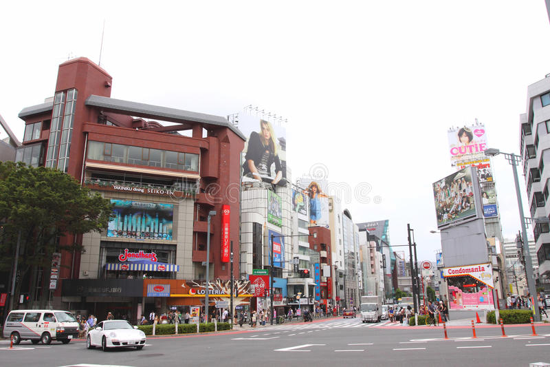 Japan : Harajuku royalty free stock photography