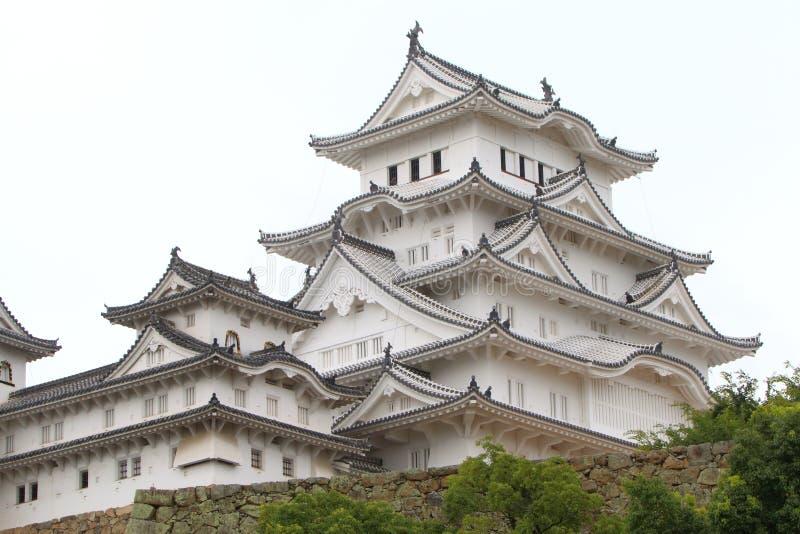 Japan: Het Kasteel van Himeji royalty-vrije stock afbeeldingen